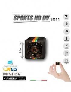 Mini Camara Vigilancia SQ11 Sports HD DV Full Hd, Micro Sd