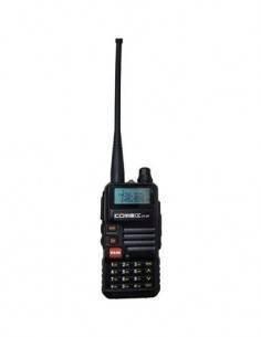KOMBIX Emisora Portatil UV-5R Bibanda VHF-UHF 4W tipo baofeng.