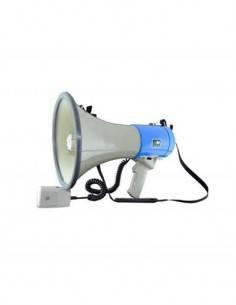 AC Megafono Portatil MEG-50 Con Sirena 25W Gris Azul