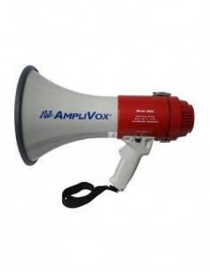 AC Megafono Portatil MEG-25 Con Sirena 20W