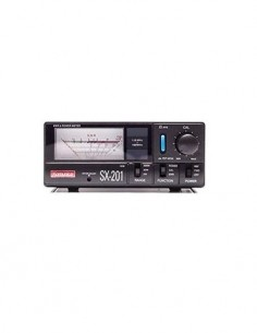 KOMUNICA SX-201 Watimetro Y Medidor De Estacionarias 1,8-160 Mhz 5/20/200W 1KW(HF).