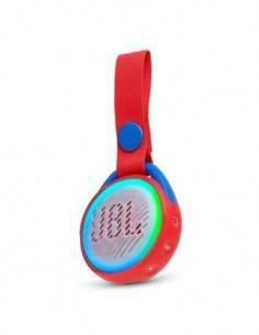 JBL Altavoz Bluetooth JRPOP Junior, Resistente a Salpicaduras Rojo