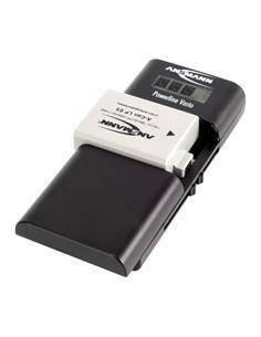 ANSMANN Cargador Universal De Bateria Poweline Vario +Accesorio Cable Micro Usb/Adaptador 12V/Adapta