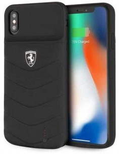 FERRARI Funda Bateria IPHONE XS Max 4000mAh Negra