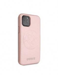 GUESS Funda Iphone 11 Pro Tpu Rosa Con Logo