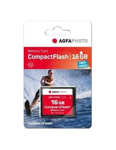 AGFAPHOTO Tarjeta Memoria Compact Flash 16Gb High Speed 300x