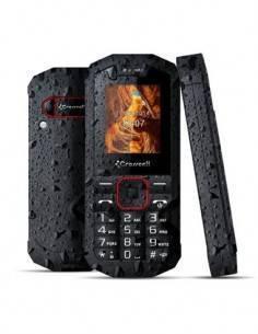 CROSSCALL Telefono Movil SPIDER-X1 Negro Impermeable, Dual Sim, Camara, Linterna, Micro Sd