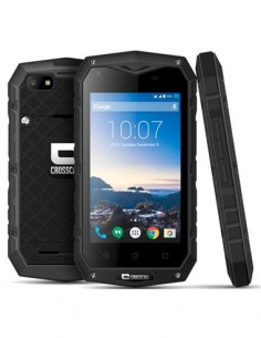 "CROSSCALL Telefono Movil ODYSSEY-S1 4"", Dual Sim,4G, 1Gb Ram, 8 Gb, 8Mpx, Quad Core, Resistente al A"