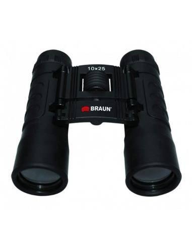 BRAUN Prismatico 10x25 Negro