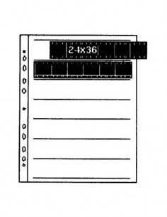 KAISER 2515 25 Hojas Glassine para Negativo 35mm