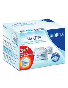 BRITA Cartucho Filtrante MAXTRA+ Pack 4 Uds