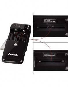 """HAMA Cargador Universal de Baterias Camara Foto Delta Multi S"""""""