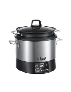 RUSSELL HOBBS Olla de Cocinar Programable Acero Inoxidable,4.5L