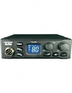TEAM TS-9M Emisora Movil RTX CB 40 Canales, 4W, am/fm, 2ch emergencia