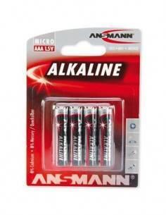 ANSMANN Pila AAA Alkalina - Pack de 4