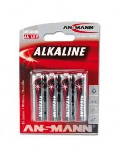 ANSMANN Pila AA Alkalina - Pack de 4
