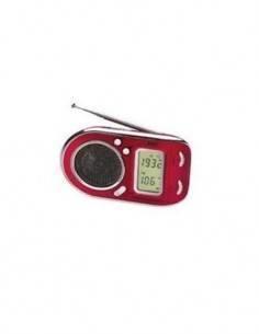 AEG Radio Portatil WE 4125 Digital Multibanda Roja