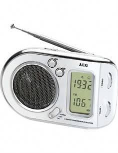 AEG Radio Portatil WE 4125 Digital Multibanda Blanca