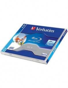 VERBATIM Blu-Ray Disk BD-R Printable 25GB, 6X