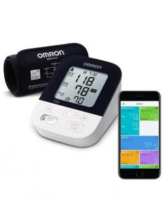 OMRON Tensiometro Digital M4 Intelli IT De Brazo Bluetooth, 2 Usuarios, 60 Memorias
