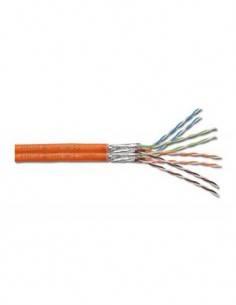 DIGITUS Cable Red CAT 7 Naranja Por Metro S-FTP PIMF Duplex/AWG 23-1/LSZH/1200 Mhz