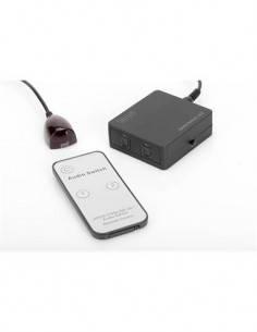 DIGITUS Toslink Audio Switch 2X1 2 Entrada-1Salida DS-40135
