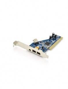 DIGITUS Tarjeta PCI Firewire ADD-ON 2X 6Pin, 1X4 Pin+1X 6 Pin Interno