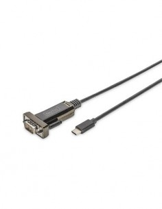 DIGITUS Cable Serial RS232 9 Pin A Usb Tipo-C DA-70166