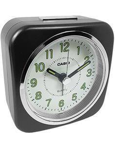 CASIO Reloj Despertador TQ-143S Negro
