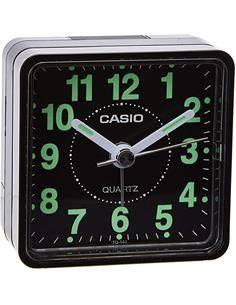 CASIO Reloj Despertador TQ-140-1EF Negro