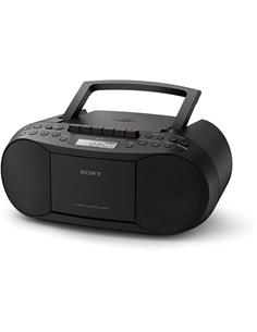 SONY Radio Cassette Portatil CFD-S70 Negro Aux In,Boombox
