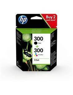 HP Pack Tintas 300 Negro+300 Color