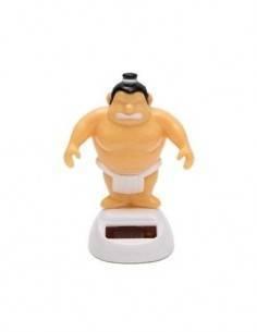 Figura Solar De Plastico Diseño Luchador De Sumo