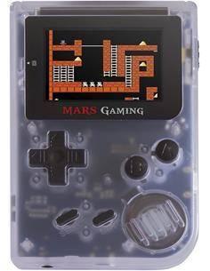 MARS GAMING  Consola Tipo Gameboy Retro MRBW 151 Juegos