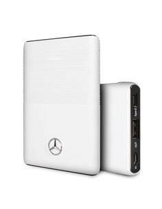MERCEDES BENZ Bateria Externa 5000mAh Blanco 2xUSB