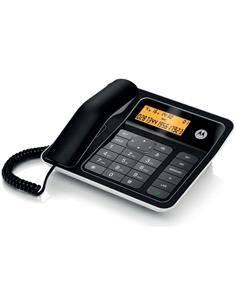MOTOROLA Telefono Sobremesa Con Pantalla Negro CT330