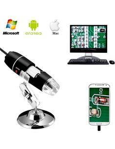 Microscopio Digital Por Usb VSW0070 1600X Con Soporte Metalico