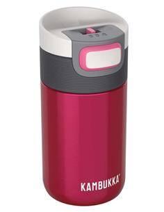 KAMBUKKA Termo Etna 300ml Raspberry 5h Caliente/11h Frio Con Bloqueo