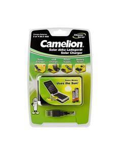 CAMELION Cargador Solar para Baterias Ni-Mh AA/AAA CAR318