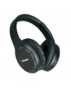 TOSHIBA Auricular de Casco Bluetooth Silent Luxury BT1200H Negr Cancelacion de Ruido,Control Por Voz