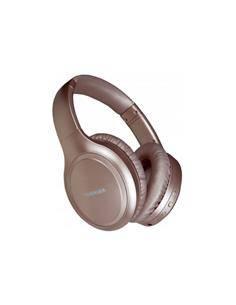 TOSHIBA Auricular de Casco Bluetooth Silent Luxury BT1200H Oro  Cancelacion de Ruido,Control Por Voz