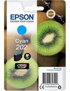 EPSON Tinta 202 Cyan C13T02F24010