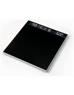JATA Bascula Baño Digital 516 Plataforma Cristal Hasta 180Kg 9206 SVBK3R Hora,Fecha,Temperatura Ambi