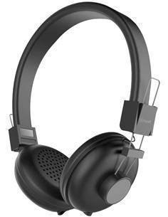 MUVIT Auricular de Casco Estereo N1C Equalizer+ Negro Con Manos Libres Cable 1.2Mtrs Jack 3.5mm