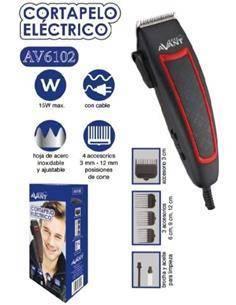 AVANT Cortapelo Con Cable AV6102 4 Accesorios 15W
