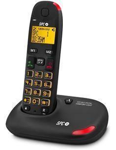 SPC 7610N Comfort Light Teléfono Inalámbrico con Teclas Grande, Volumen extra Amplificado
