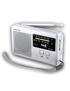 SAMI Radio Analogico AM/FM RS-2978 Con Antena Plata