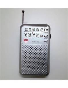 SAMI Radio Bolsillo Analogica AM/FM RS-2979 Plata