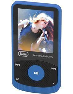 TREVI Reproductor Mp4 MPV1725 Azul Radio Fm, Micro Sd, Foto Video Con Auriculares