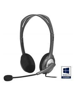 LOGITECH Auricular Tipo Casco H110 Con Cable Micro/Audio  2 Jack 3,5 Estereo